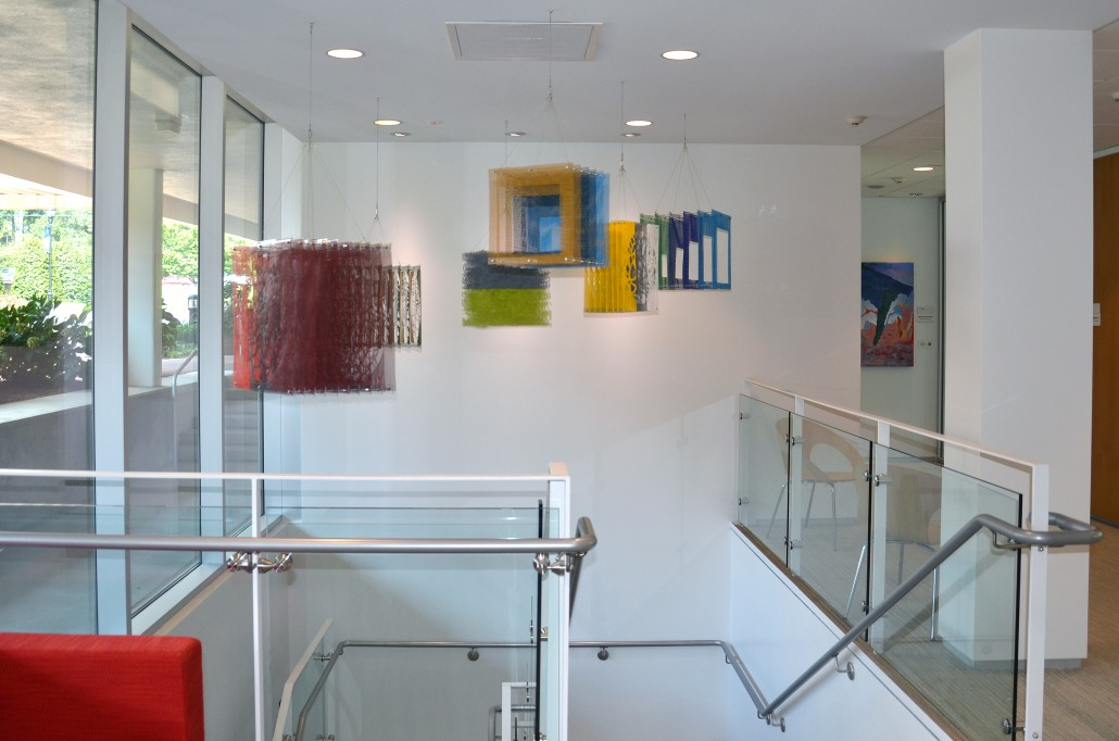Cluster - contemporary art display