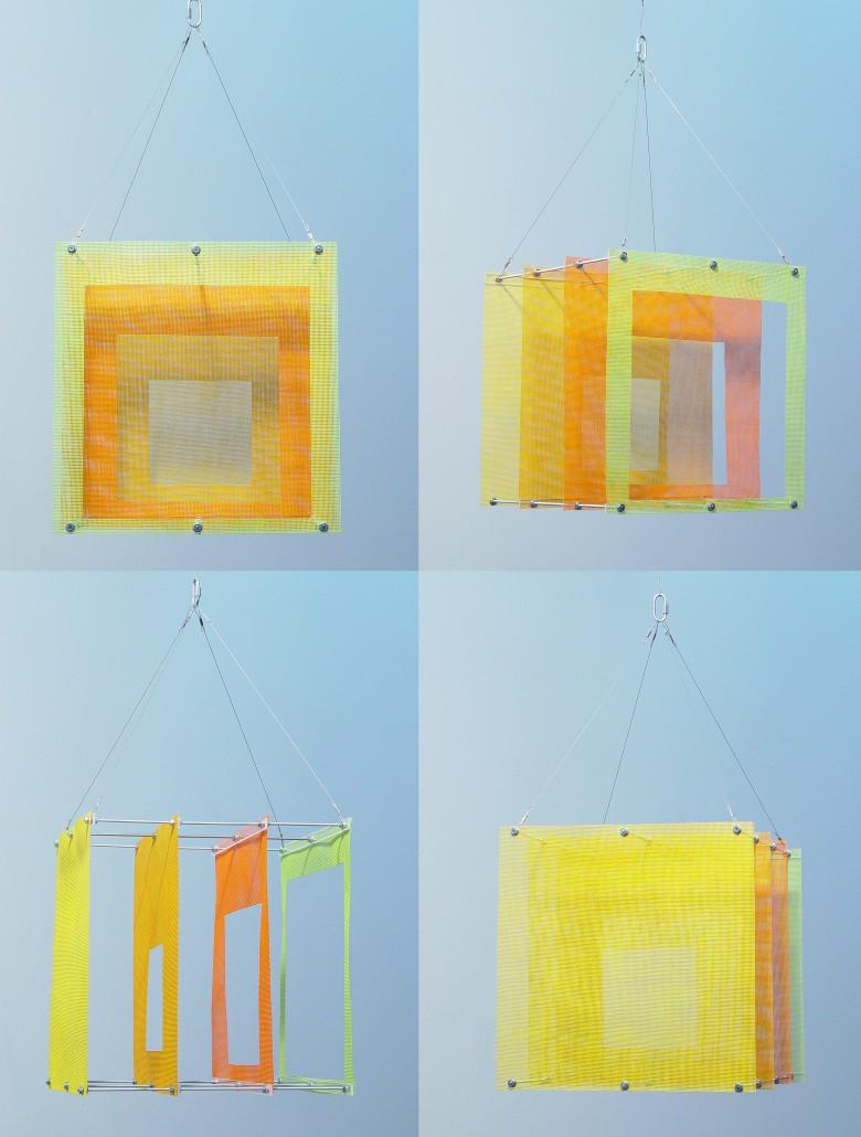 Kite - sculpture installation