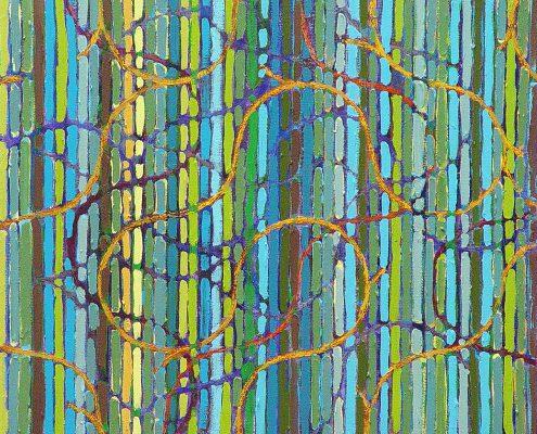 Charleston Boogie - abstract canvas art