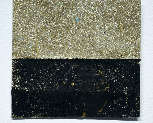Glitter Back art piece