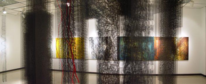Petite Cheniere 05 - studio abstraction artwork