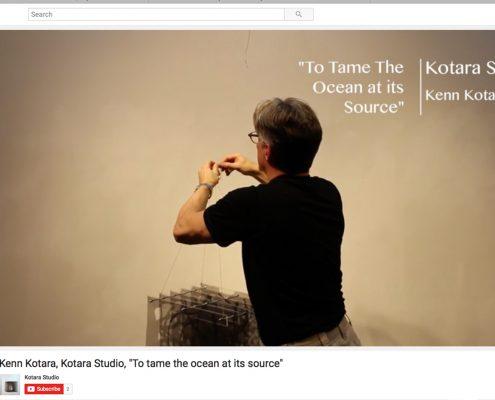 """To Tame the Ocean At Its Source"" - Kenn Kotara quote"